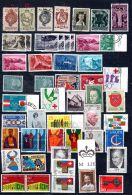 Liechtenstein Collection Des Timbres Oblitéré, Selon Scan, Lot 44908 - Collections
