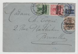 BB095 / Brüssel, Ortsbrief 1915 - Weltkrieg 1914-18