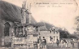 ¤¤  -  3426   -  ERGUE-GABERIC   -  KERDEVOT  -  Le Calvaire  -  Jeux De Boules  -  Boulistes   -  ¤¤ - Ergué-Gabéric
