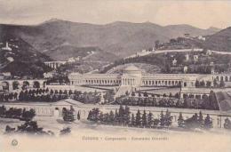 Italy Genova Camposanto Panorama Generale