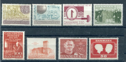 Denmark - A Selection Of 8 Stamps - Lotes & Colecciones
