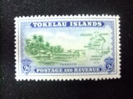 TOKELAU 1948 FAKAOFO  Yvert Nº 3 ** MNH GB Nº 3 ** MNH - Tokelau