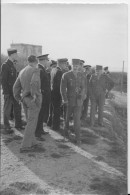 Général Leclerc  - Alger - Algérie -  (archives Colonel Perrotte) - Guerre - Militaire - Photo - Guerre, Militaire