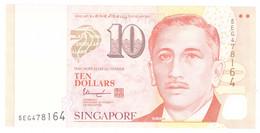 Singapore, 10 Dollars, 2013, KM:48b, Undated, NEUF - Singapore
