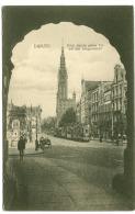 GDANSK DANZIG Tram At Grüne Tor Längenmarkt Street Life C. 1910 - Polen