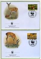 2001 - SWAZILAND - Mi. Nr. 702/705 - OFFICIAL FDC - (CAT 2016 WWF) - Swaziland (1968-...)