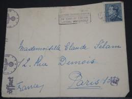 BELGIQUE - Env Avec Censure Allemande Pour Paris - 1942 - A Voir – 17542 - 1934-1935 Léopold III
