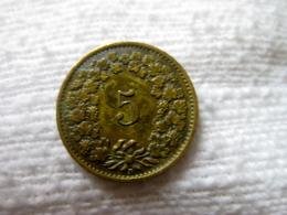 Suisse: 5 Centimes 1918 - Suisse