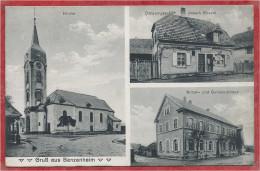 68 - GRUSS Aus BANZENHEIM - BANTZENHEIM - Consumgeschäft - Joseph ROESLE - Kirche - Gemeindehaus - France