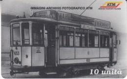 Italy Phone Card  - ATM Tram -  Mint - Treni