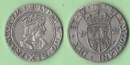 Milano Ludovico Di Francia Medaglia In Argento 1976 - Italia