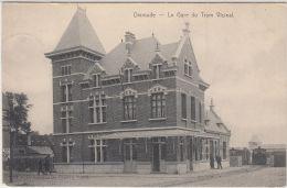 26623g  GARE DU TRAM VICINAL - Dixmude - 1907 - Diksmuide