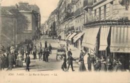 PARIS - La Rue De Gergovie. - Distretto: 14