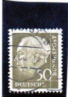 1956 Germania - Presidente Heuss - BRD