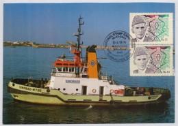 PAKISTAN POSTCARD - SINDBAD TUG Ship At Karachi Harbour, Special Postmark KURRACHEE 2016 - Altri