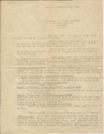Valognes-Lettre Envoyée De Carentan Le 5 Novembre 1972 à Monsieur Et Madame Jamet Et Leurs Enfants à Valognes. - Vieux Papiers