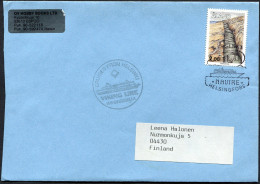 (1628) Aland Schiffspost, VIKING LINE M/S CINDERELLA, Gestempelt In Helsinki Am 6.8.1998 Mit NAVIRE -Stempel - Aland