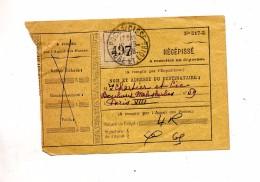 Recepisse  N° 517-2cachet Poces - Documents De La Poste