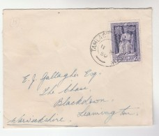 1950 Tallaght  IRELAND  Stamps COVER  To GB - 1949-... Republic Of Ireland