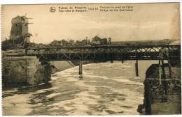 Nieuwpoort, The Ruins At Nieuport, Bridge On Tha Yser Canal (pk27765) - Nieuwpoort
