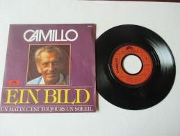 CAMILLO   ---   EIN  BILD   ///   UN  MATIN  C'EST  TOUJOURS  UN  SOLEIL   --  2 Photos - Disco, Pop