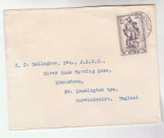 1956 Tallaght  IRELAND  Stamps COVER  To GB - 1949-... Republic Of Ireland