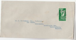 1953 Tallaght  IRELAND Harp  Stamps COVER  To GB - 1949-... Republic Of Ireland