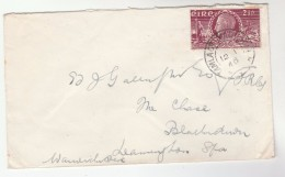 1949 Tallaght  IRELAND Stamps COVER  To GB - 1949-... Republic Of Ireland