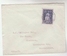 1951 Tallaght  IRELAND Stamps COVER  To GB - 1949-... Republic Of Ireland