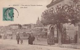 15H - 89 - Joigny - Yonne - Vue Prise De L'Avenue Gambetta (côté Droit) - N° 79 - Joigny
