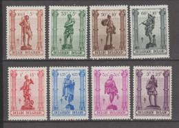 Belgique  1943  .  N°615 / 22 Neuf X  (charniere)  Série Compléte - Belgium