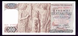 Greece 500 Drachmai 1968 UNC - Greece