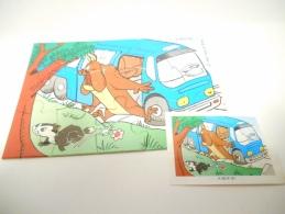 Kinder K 98 N. 81 + Bpz - Puzzles
