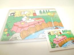 Kinder K 98 N. 77 + Bpz - Puzzles