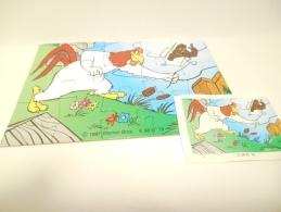 Kinder K 98 N. 79 + Bpz - Puzzles