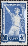 France - N°  186 * 8ème Olympiade Paris 1924 - Athlête Prêtant Serment - Unused Stamps
