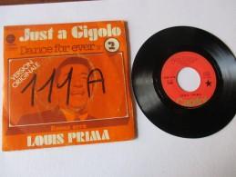 LOUIS  PRIMA   ---   JUST  A  GIGOLO - DANCE  FOR  EVER  ///   BUONA  SERA   --  2 Photos - Disco, Pop
