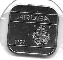 *Aruba 50 Cents  1997 Km 4   Bu - [ 4] Colonies