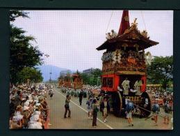 JAPAN  -  Kyoto  Gion Festival  Unused Postcard - Kyoto