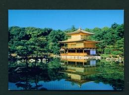 JAPAN  -  Kyoto  Temple Of The Golden Pavilion  Unused Postcard - Kyoto