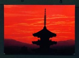 JAPAN  -  Kyoto  Yasaka Temple  Unused Postcard - Kyoto