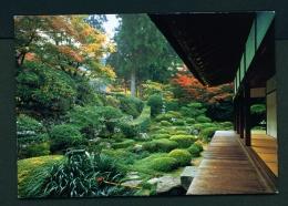 JAPAN  -  Kyoto  Sanzen-in Temple  Unused Postcard - Kyoto
