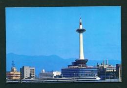 JAPAN  -  Kyoto Tower  Unused Postcard - Kyoto