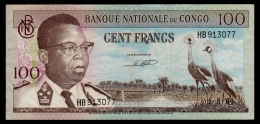 Congo 100 Francs 1964 P.6a Without Stars F+ - Congo