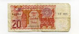 20 DINARS - Algerije