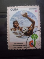 Cuba N°2379 WATER-POLO Oblitéré