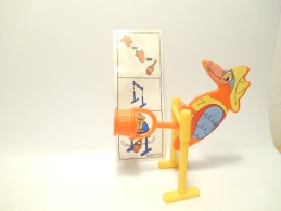 Kinder K 98 N. 110 + Bpz - Puzzles