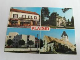 PLAISIR  Le Tabac De La Mairie L'église L'hopital    78 Yvelines - Other Municipalities