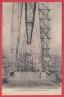 CPA *13 * MARSEILLE * 1910 * Embarcadère Nacelle Du Transbordeur - * Animation** =>Sca Recto/verso - Joliette, Port Area