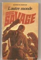 Science Fiction DOC SAVAGE La Mort Verte N°25/102 Par KENNETH ROBESON POCKET MARABOUT De 1971 - Marabout SF